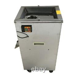 Used 220V 2.2KW 304Stainless Steel Electric Meat Grinder Feed Processer