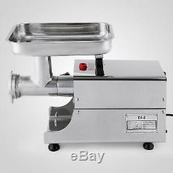Vevor Commercial Kitchen Heavy Duty Stainless Steel Electric Meat Grinder 75kg/h