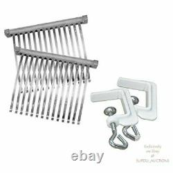 Weston Manual Heavy Duty Meat Aluminum Construction, Stainless Steel Blades