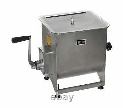 Weston Stainless Steel Meat Mixer, 44-Pound Capacity (36-2001-W), Removable M