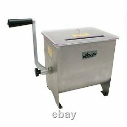 Weston Stainless-steel Meat Mixer 20 LB