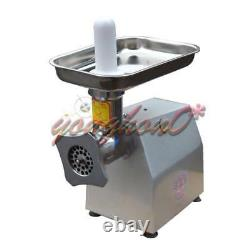 YQ-12 Commercial stainless steel 120kg/h Watt Electric Meat Grinder 0.65kw 220v