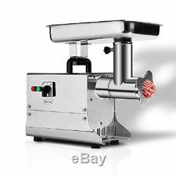 Zica #8 Stainless Steel Big Bite Electric Commercial Meat Grinder Sausage Stuffe