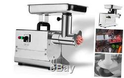 Zica Stainless Steel Electric Commercial Meat Grinder Sausage Stuffer #221.5HP